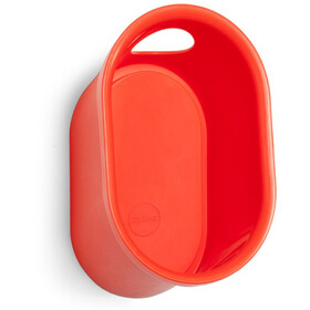 Cycloc Loop Montaje de pared para casco y accesorios, red/orange